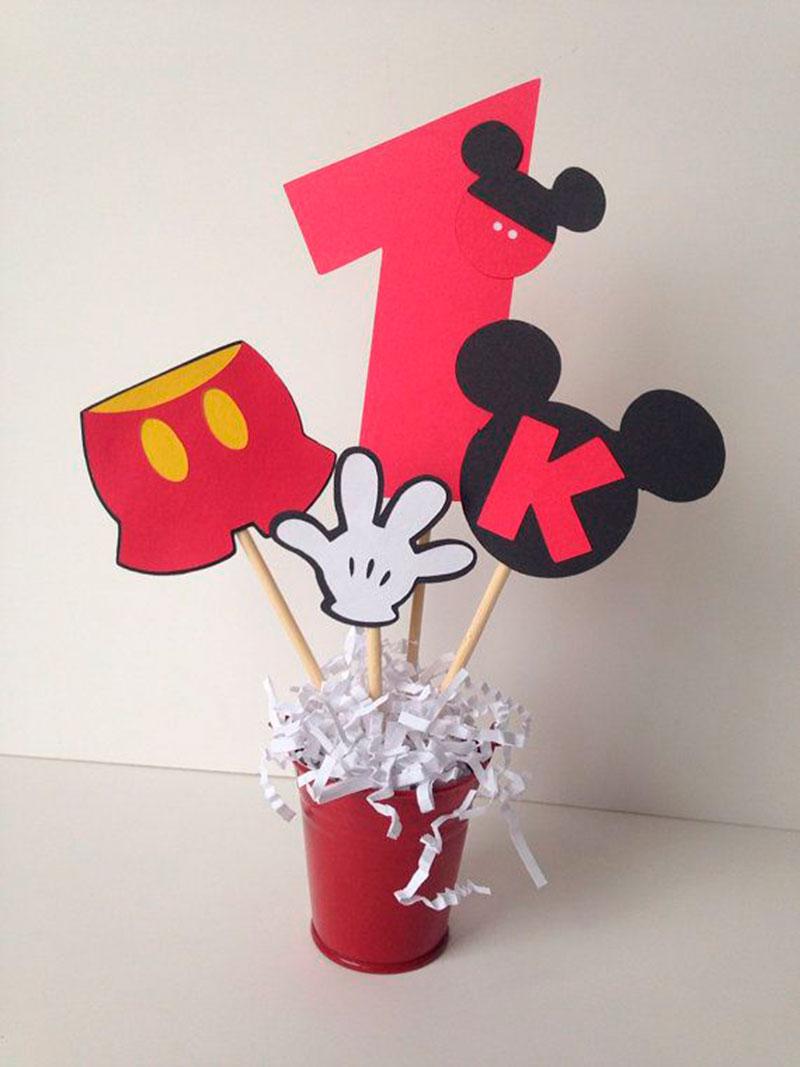 decoração para festa do mickey2