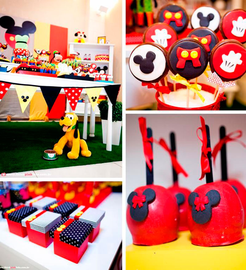 festa decorada do mickey
