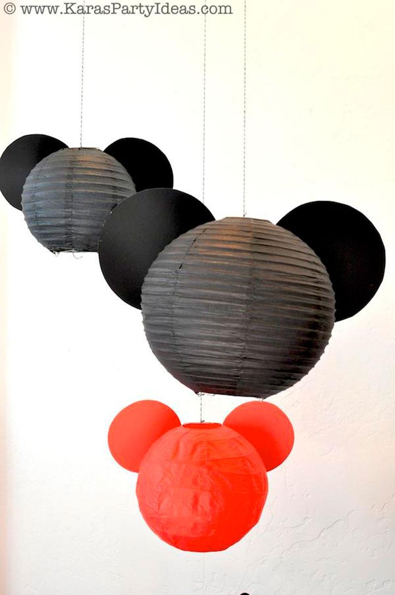 mickey decoração criativa
