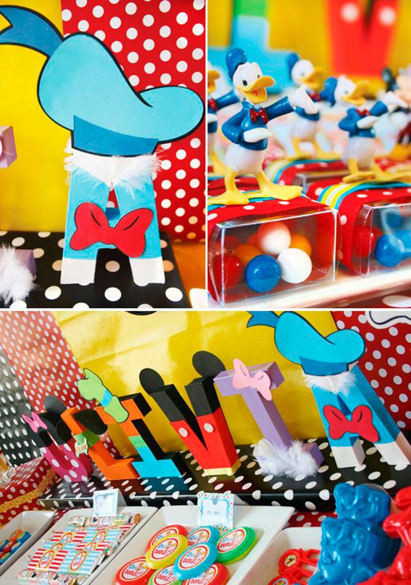 mickey festa decoração