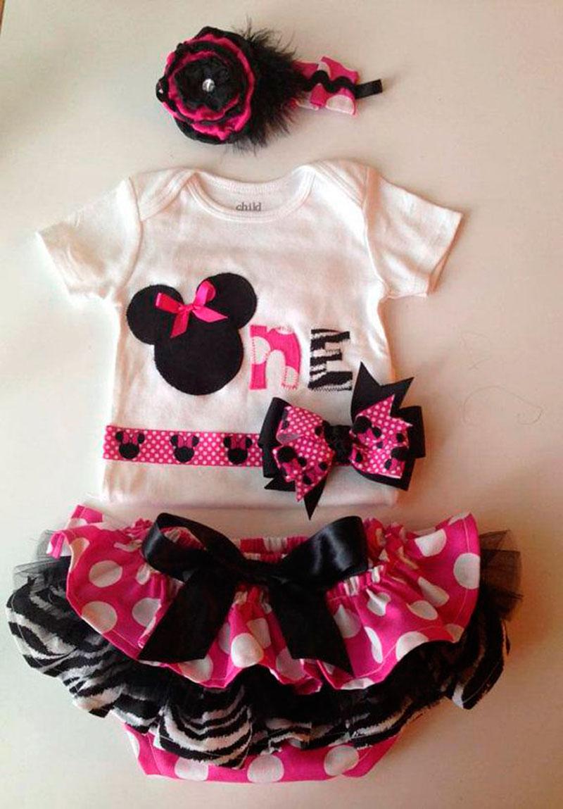 roupa da minnie para bebe