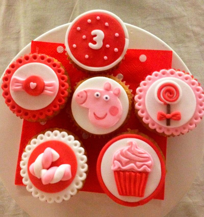 Cupcake Peppa Pig-1