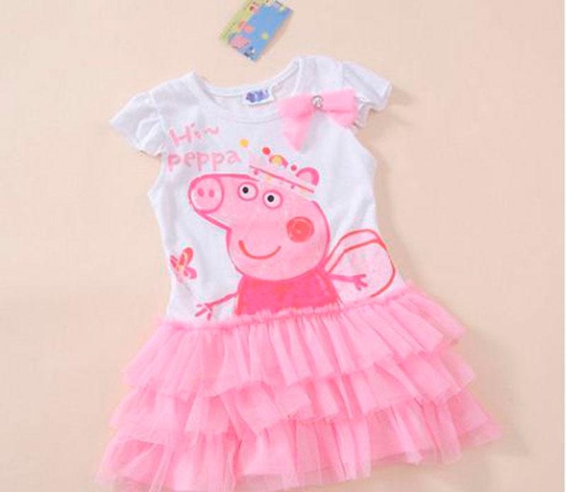 Vestido Roa Peppa pig