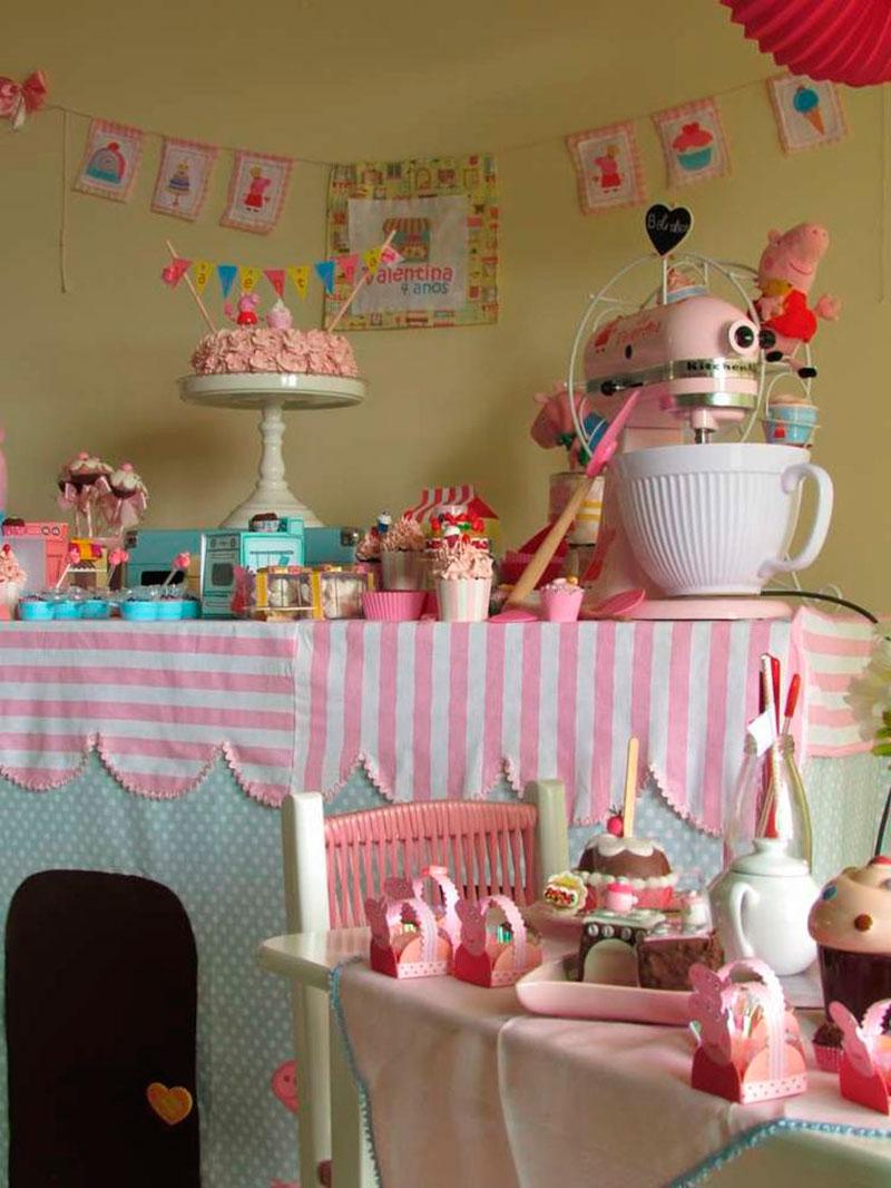 festa da Peppa para meninas