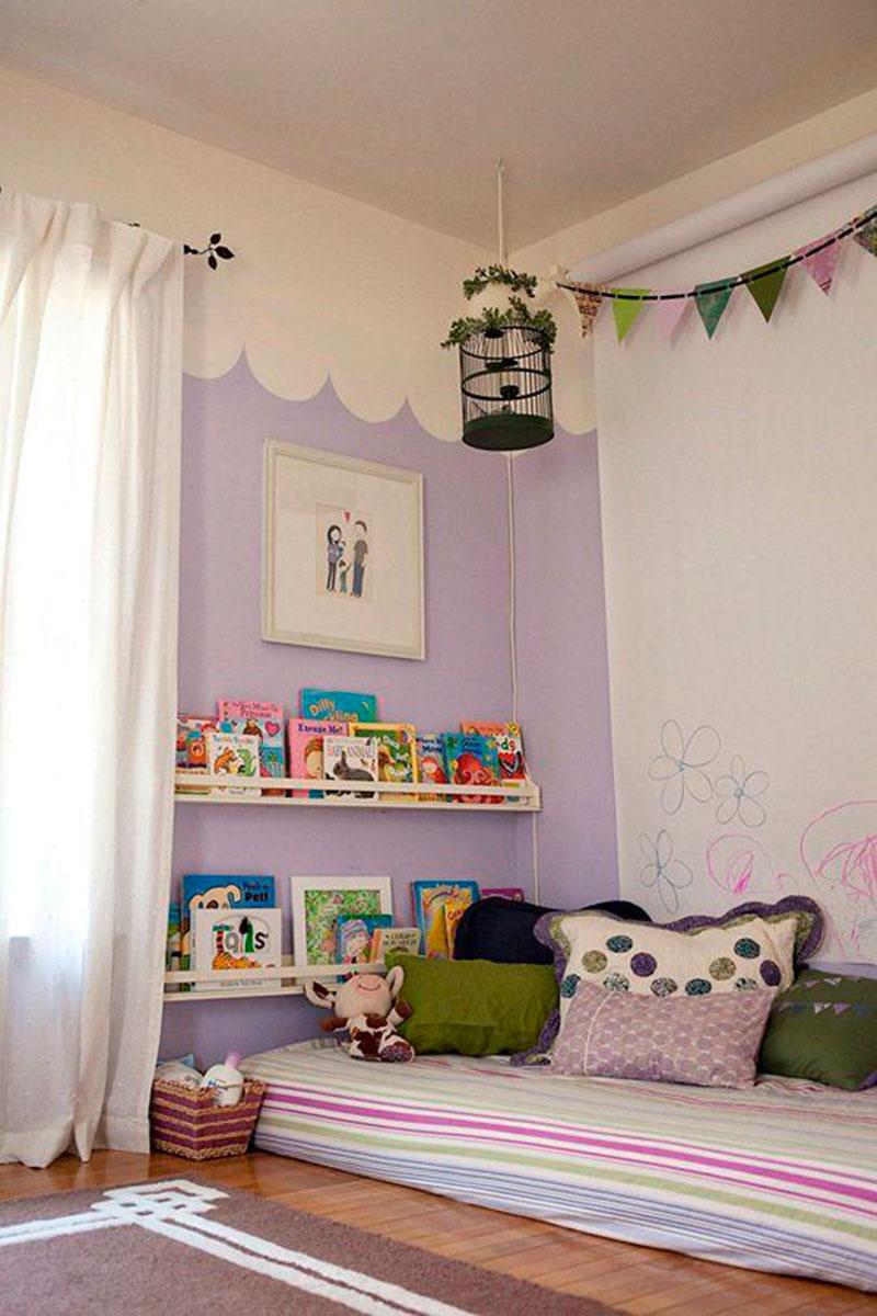 quarto montessori - lilas