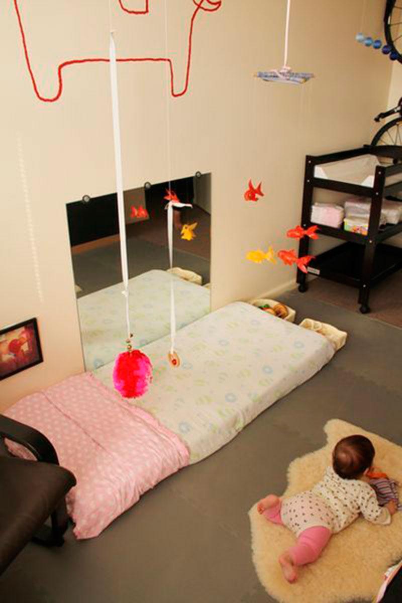 quarto montessori - pra bebes