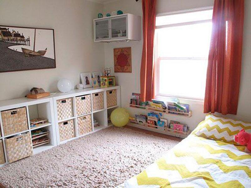 quarto montessori tapete