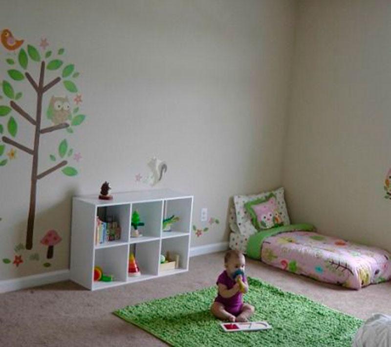 quarto montessori - verde