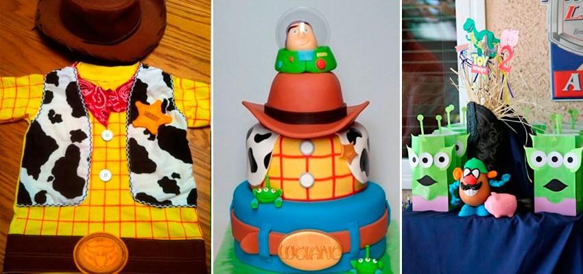 54 ideias para festa infantil do Toy Story