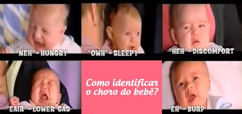 Como identificar o choro do bebe