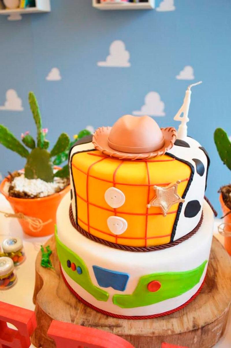 bolo para 4 anos