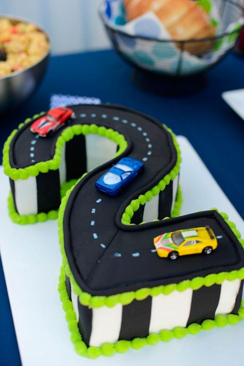 bolo de 2 anos