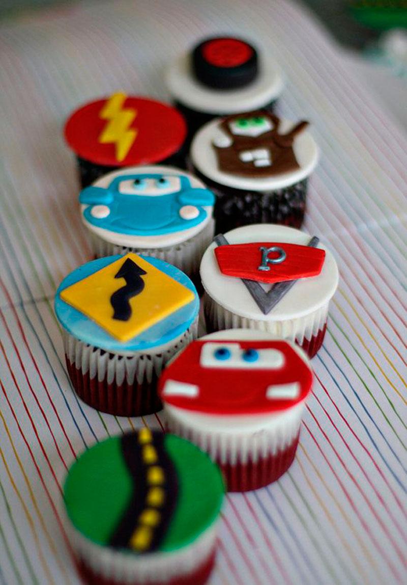 cupcake carros