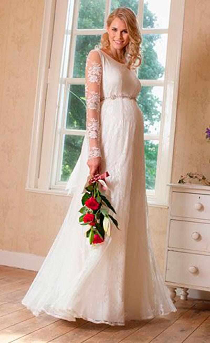 vestido de casamento para getantes