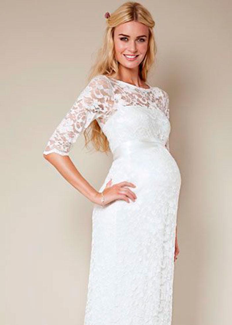 vestido de noiva longo rendado