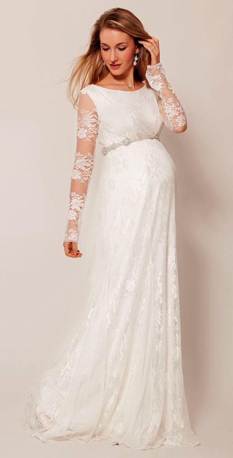 vestido de noiva manga comprida