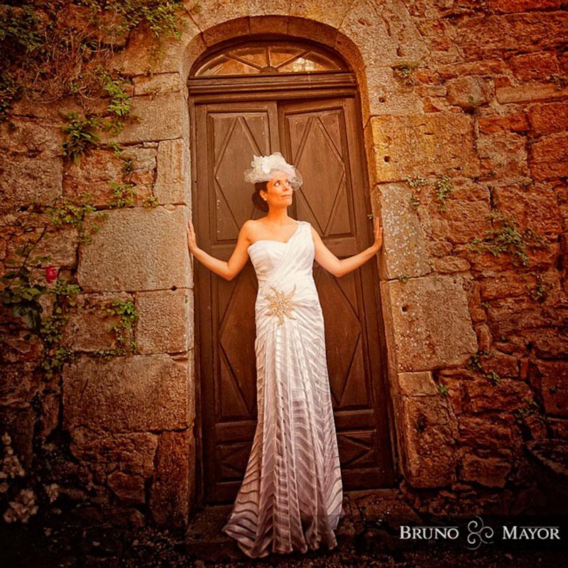 vestido moderno