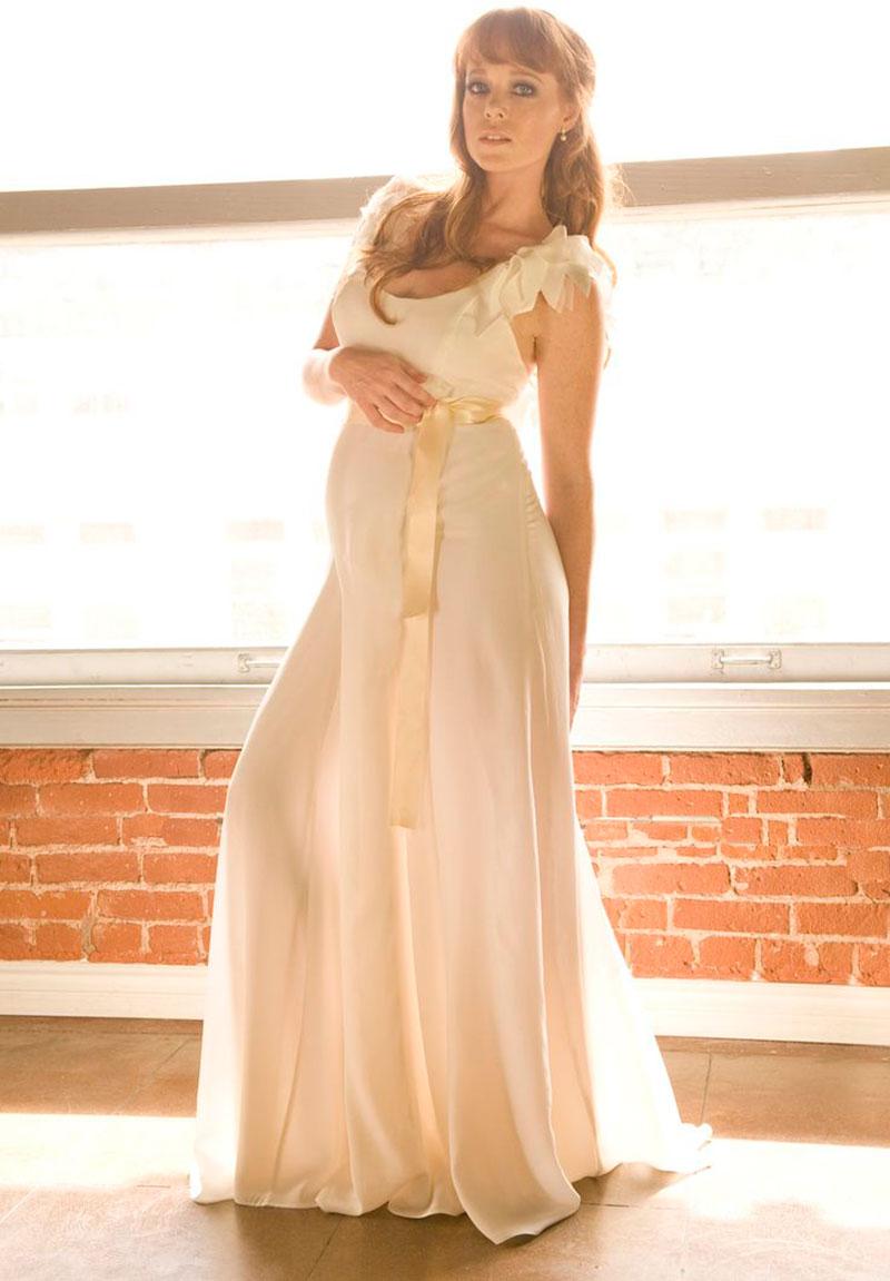 vestido para noiva gestante linda
