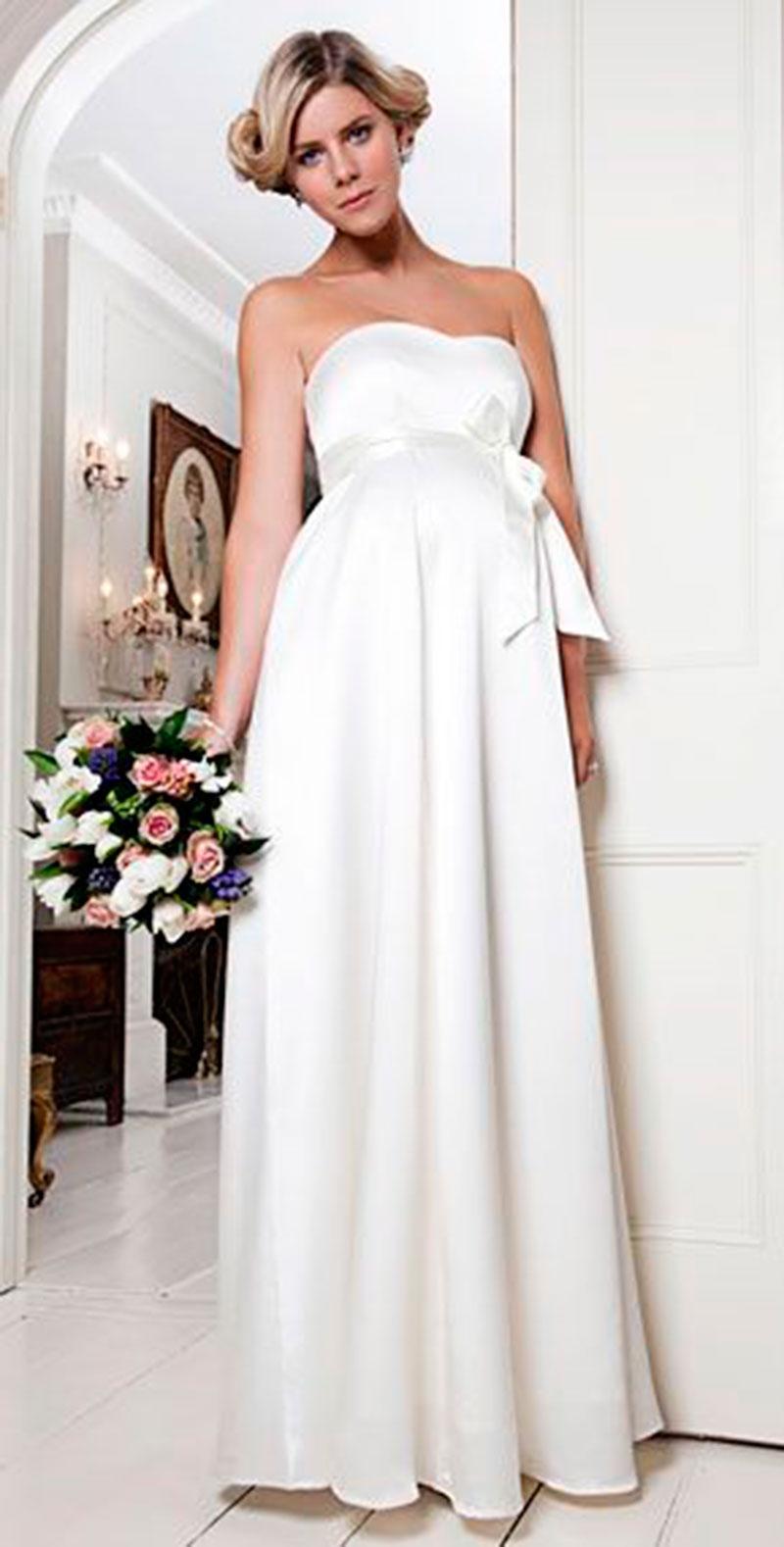 vestido tomara que caia noiva