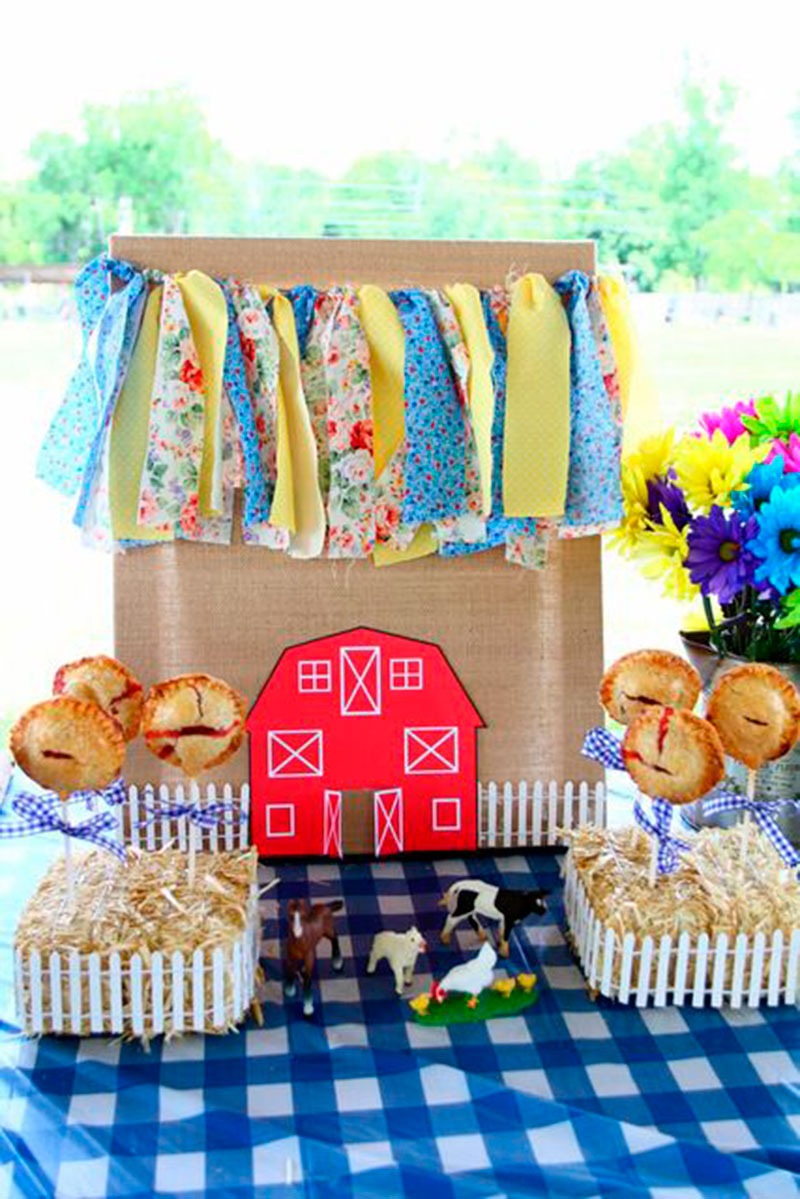 decoração azul e amarelo