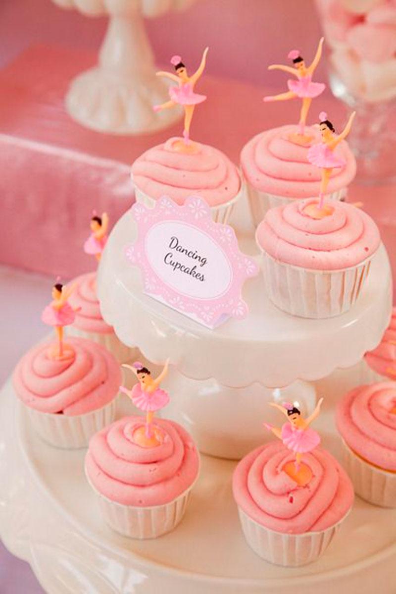 cupcake-festa bailarina