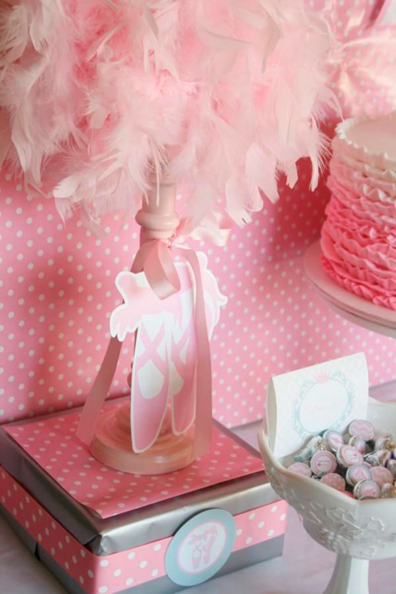50 Inspiraes Festa Infantil Bailarina Dicas Da Japa