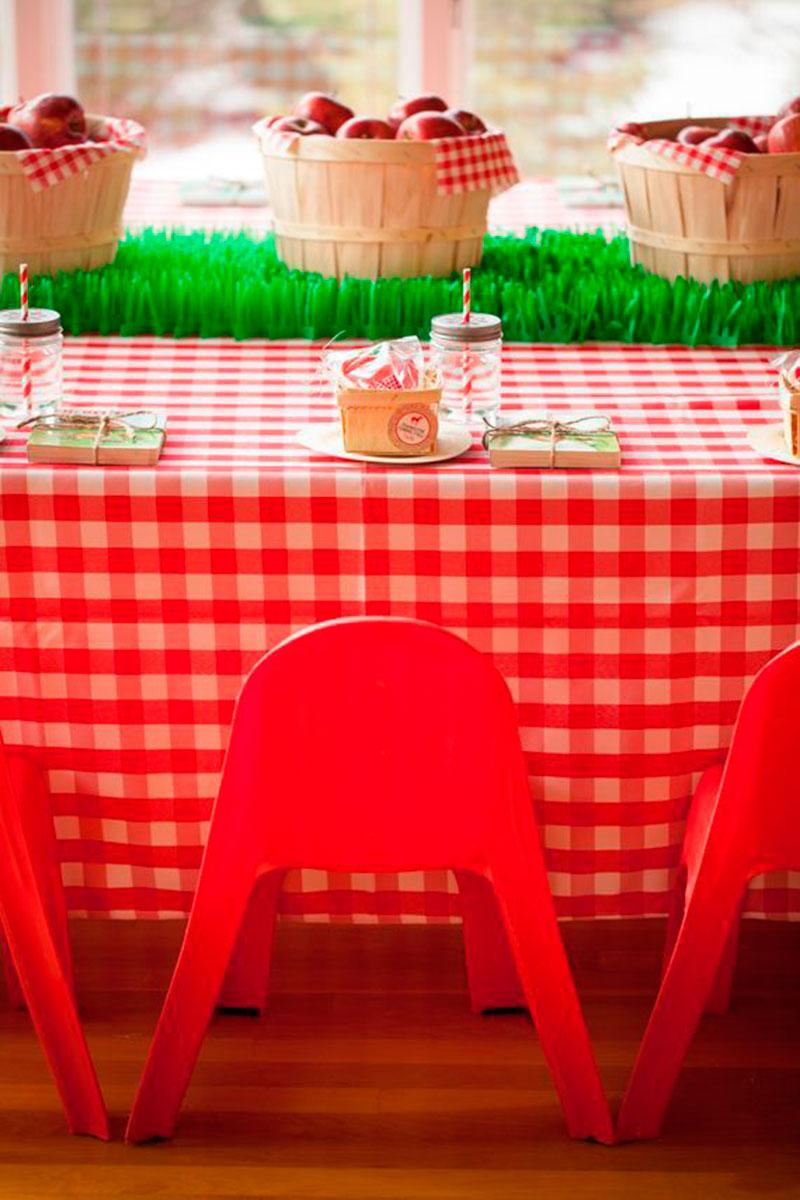 fazenda cadeira vermelha
