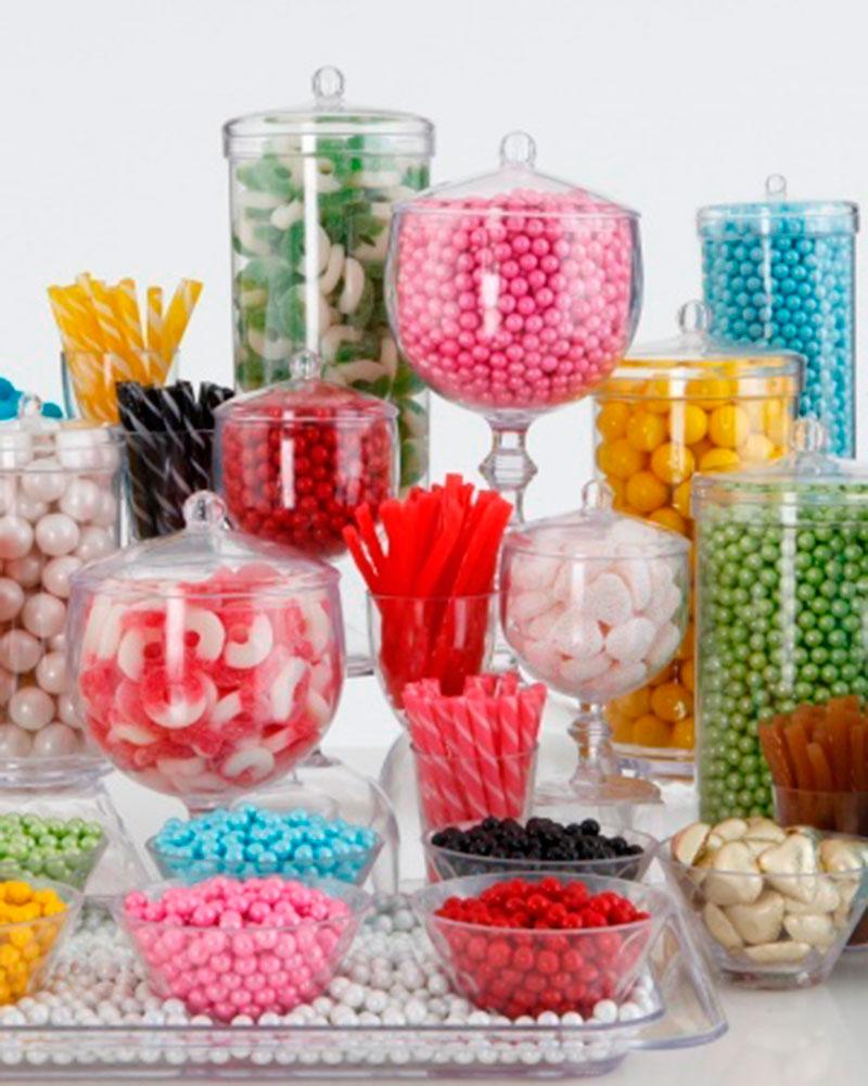 colorido -mesa de doces