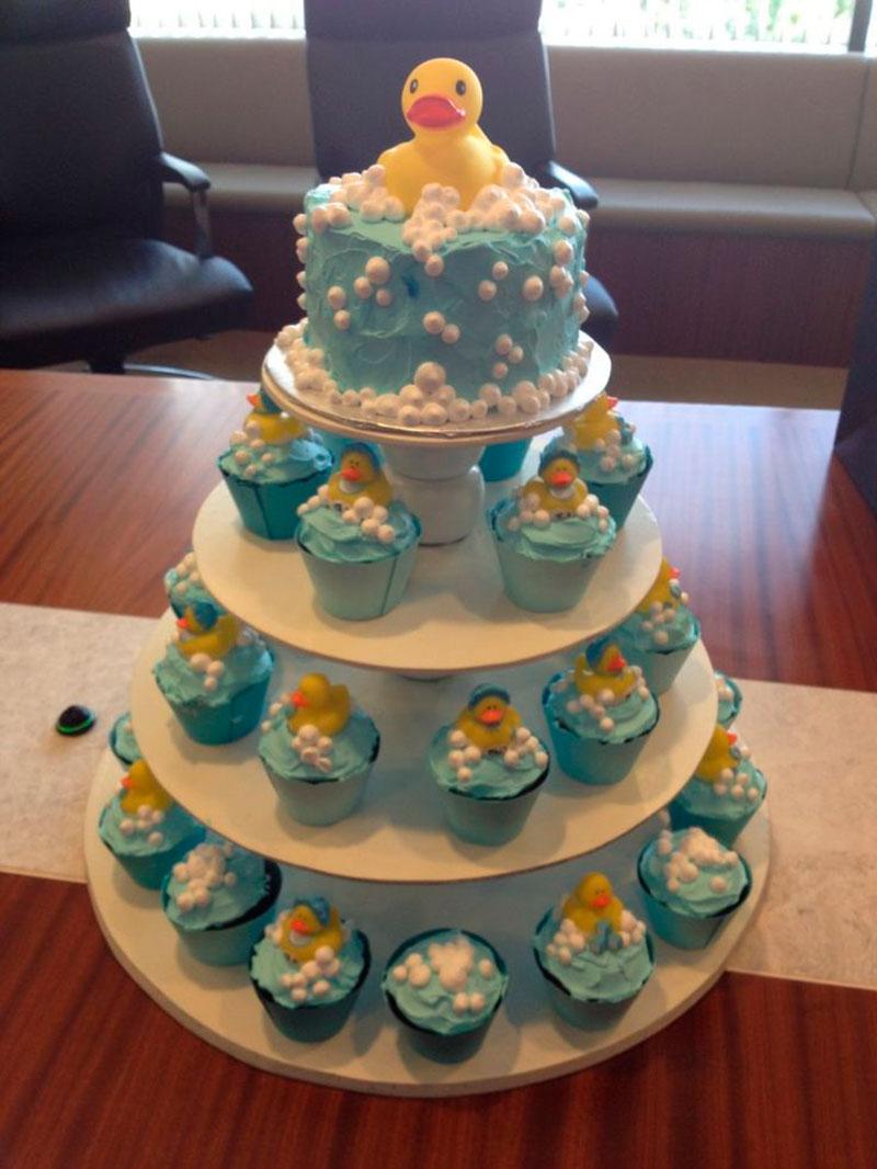 cupcake do patinho