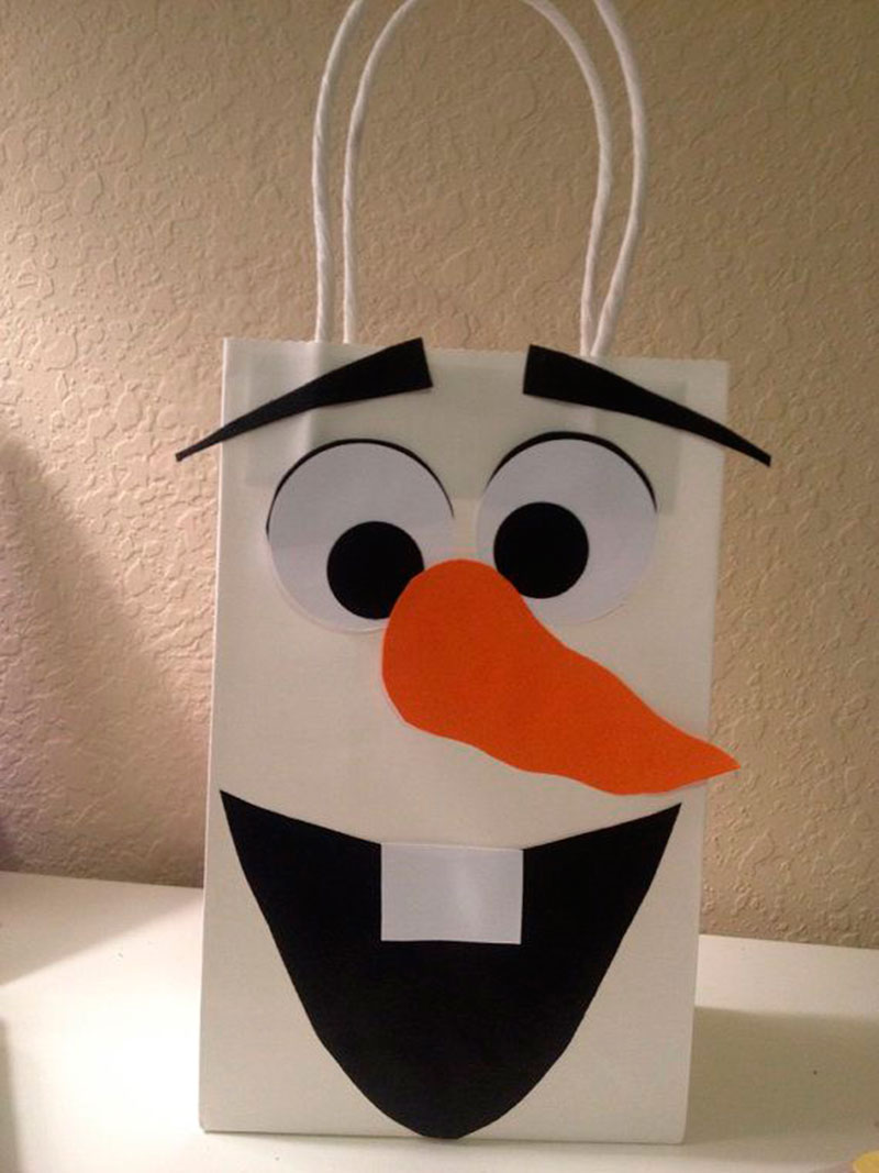 saquinho Olaf
