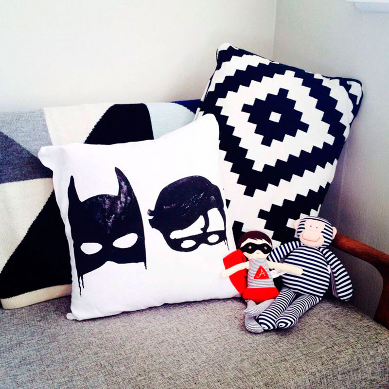Batman e Robin preto