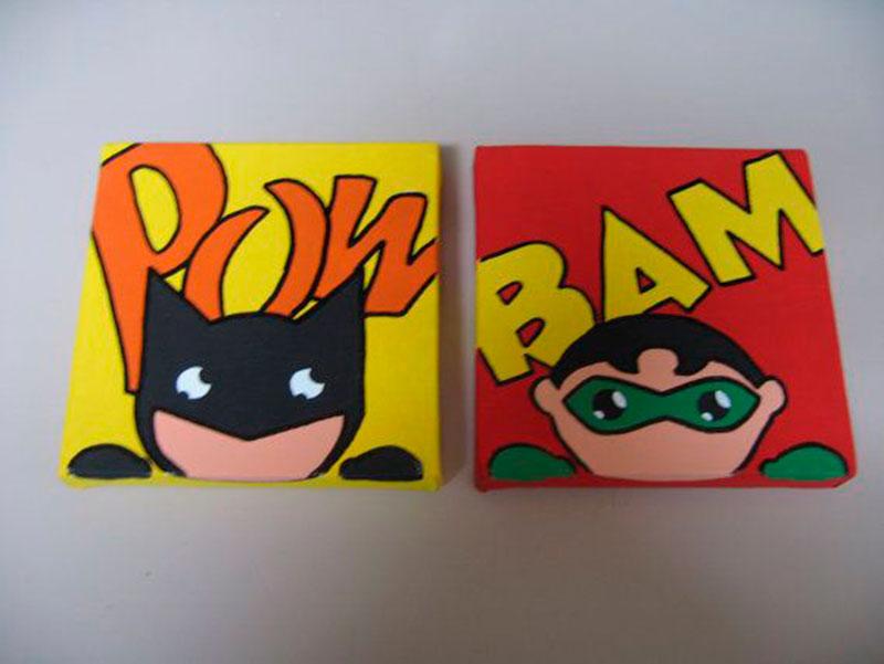 Batman quadros