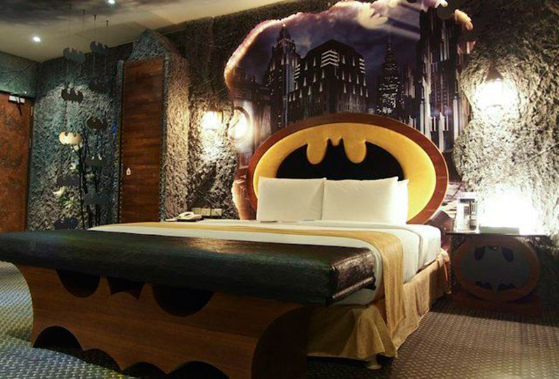 cama personalizada do batman
