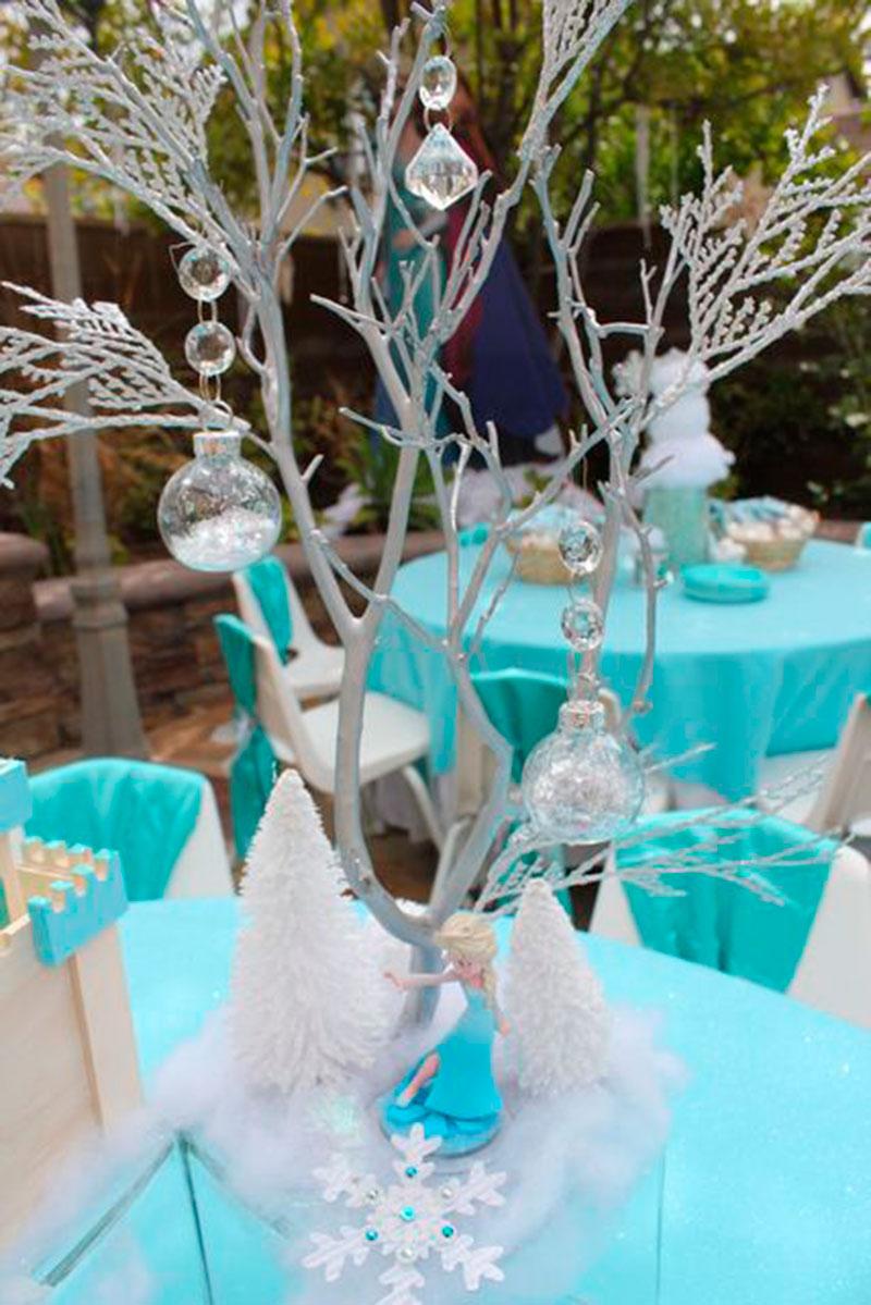 Frozen enfeite de mesa