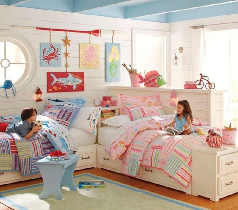 quarto de irmã e irmão