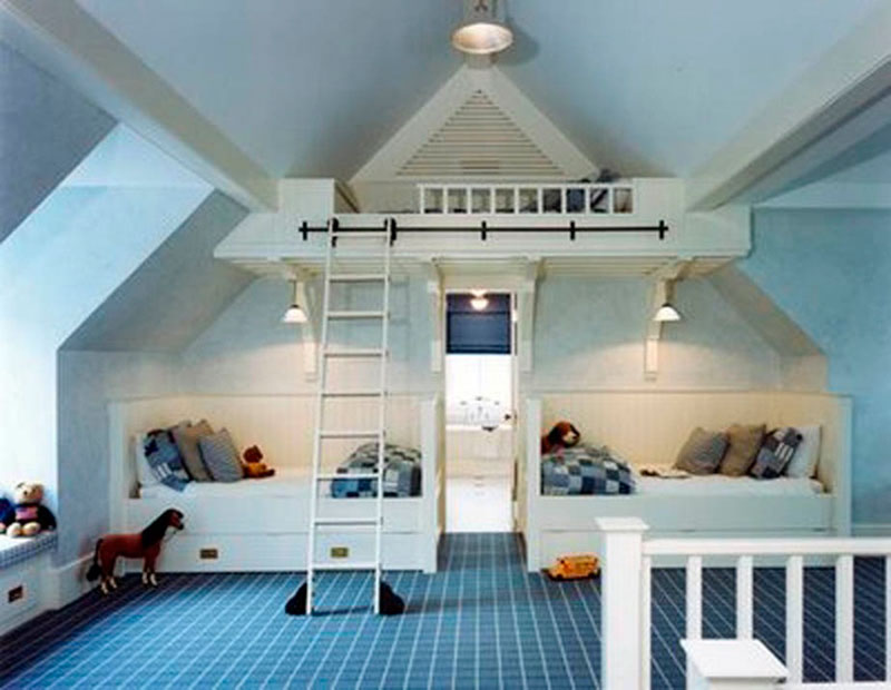 quarto para 3 meninos