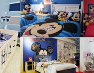30 ideias de quarto infantil do Mickey Mouse