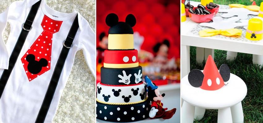 70 Inspirações de festas infantis do Mickey Mouse
