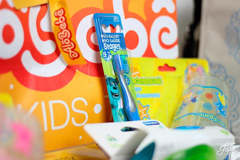 Escova de dentes da Oral B