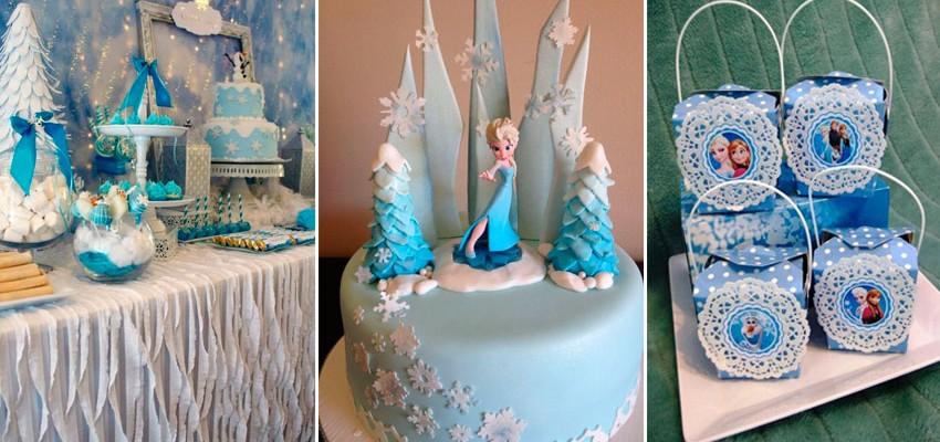 Festa Infantil Frozen 55 inspirações para meninas