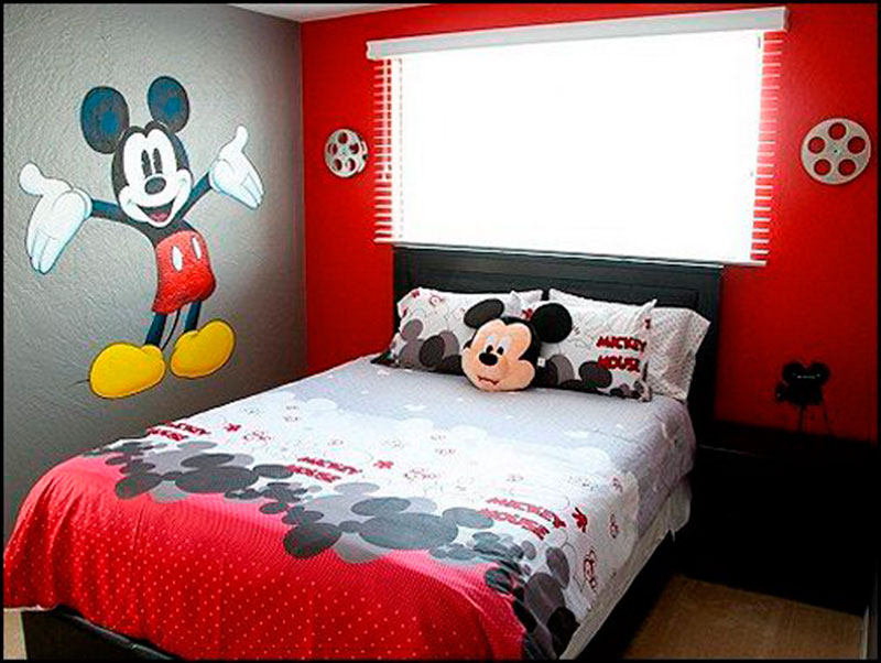 cama do mickey