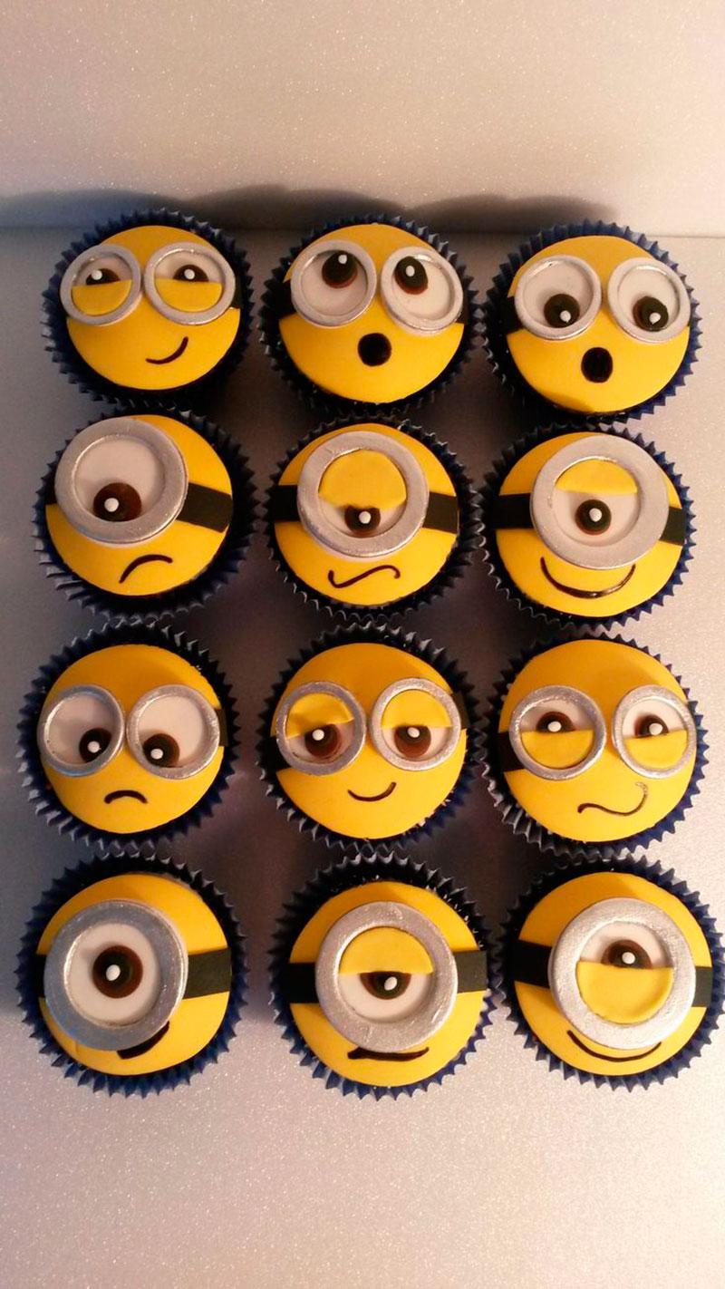 cupcake minions