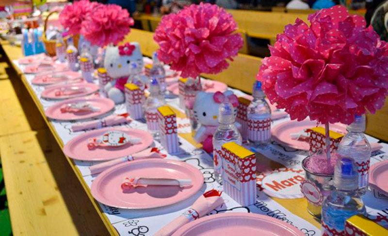 mesa para kids