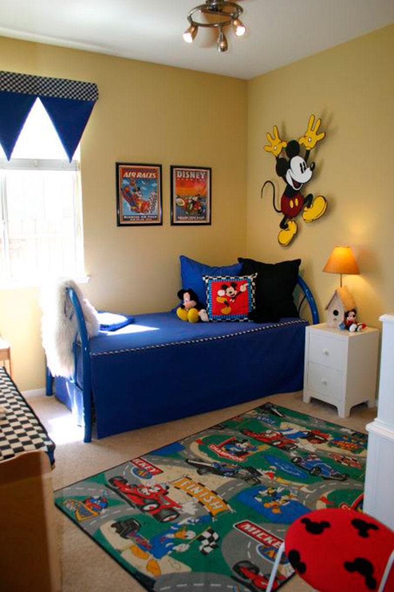 30 Ideias De Quarto Infantil Do Mickey Mouse Dicas
