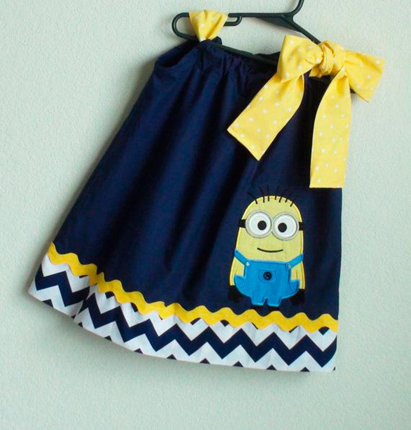 vestido Minions - 5