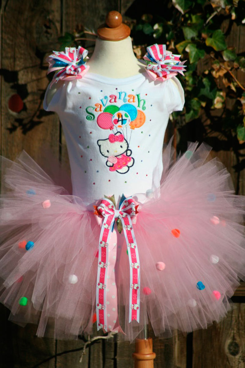vestido da hello Kitty-1