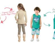 8 roupas infantis para passeios