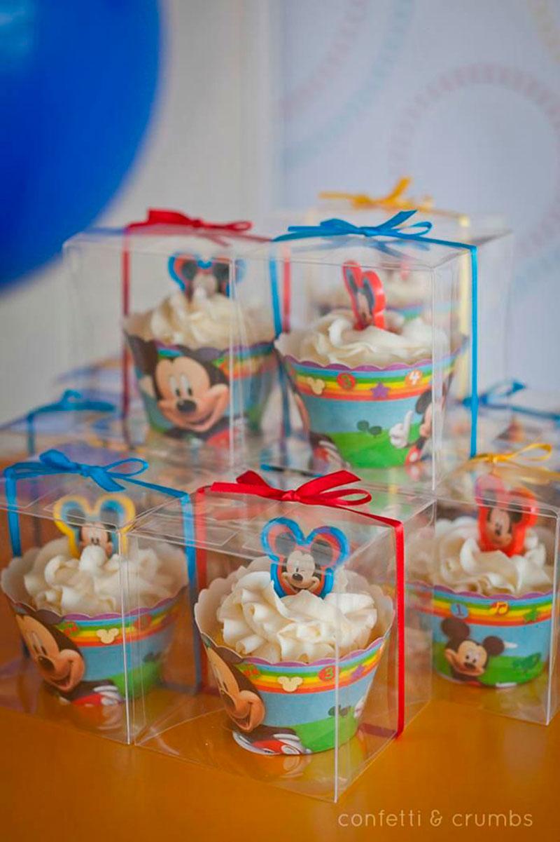 Cupcake lembranca-Mickey