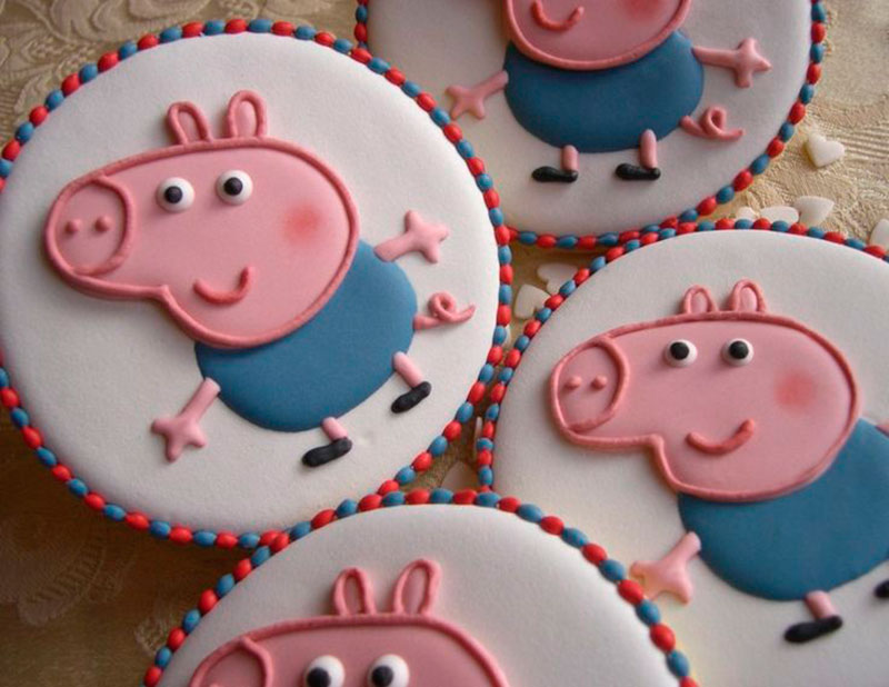 George Pig-cookie