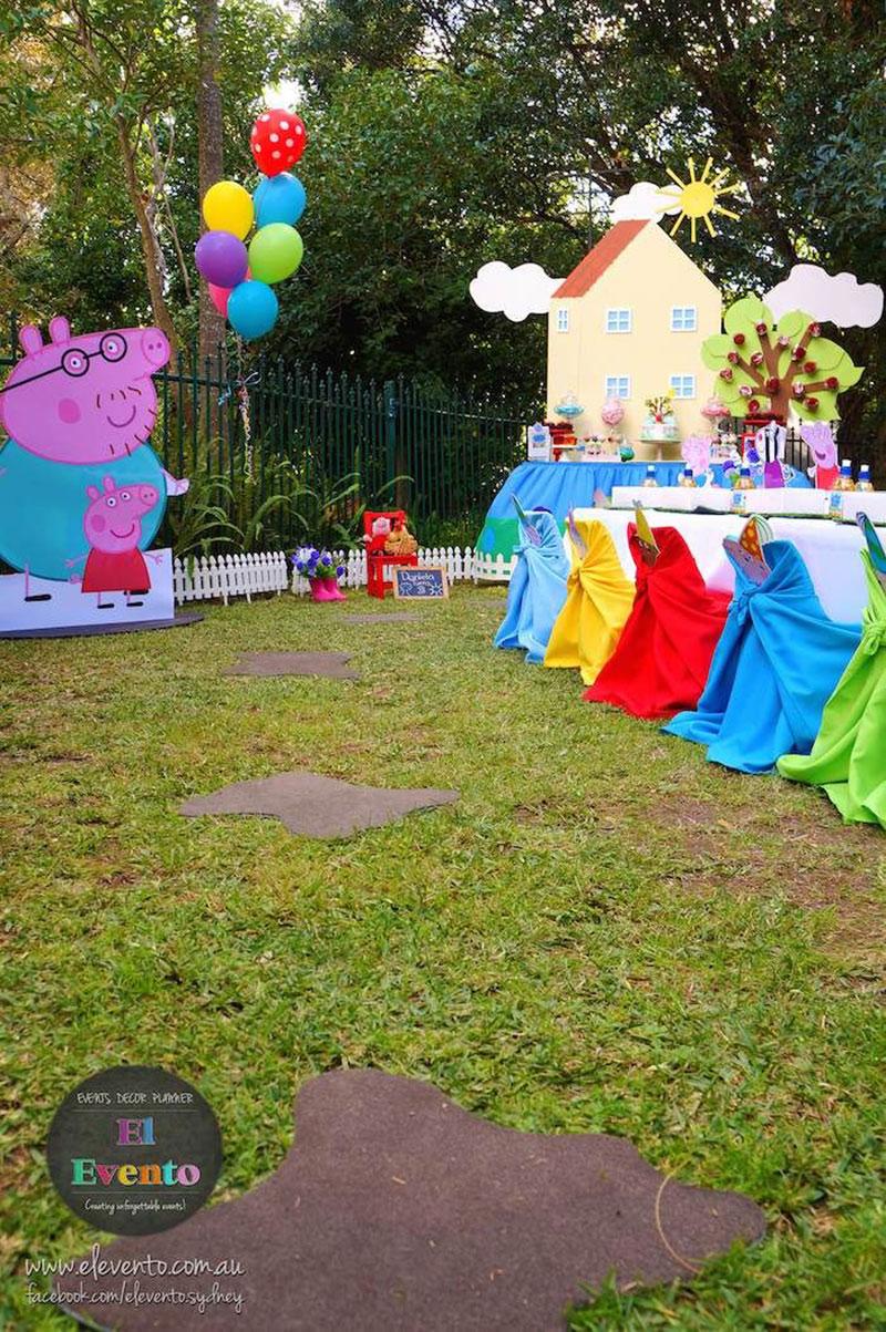 festa externa-George Pig